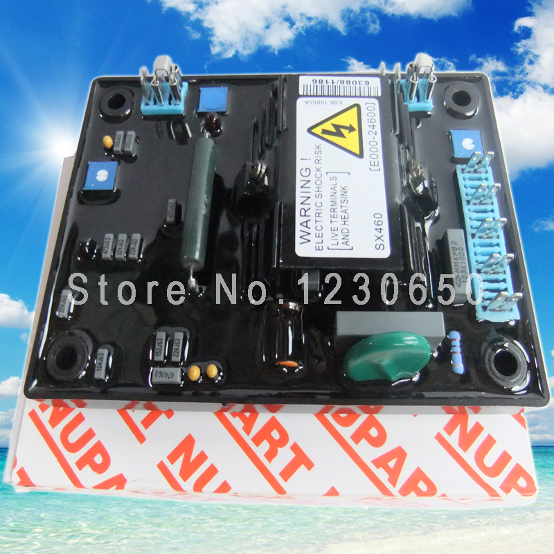 STAMFORD AVR SX460 FOR GENERATOR (RED CARTON) SUPPLIER avr sx460 for generator common carton supplier made in china free shiping to usa