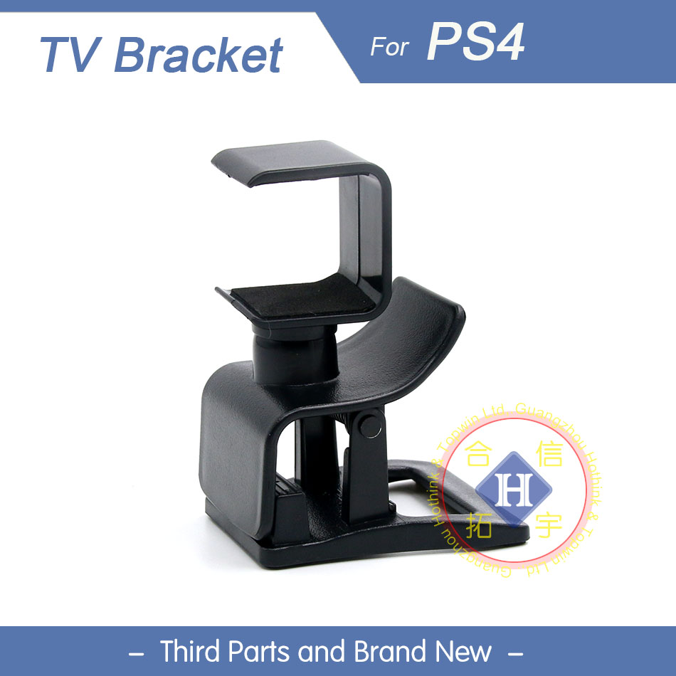 HOTHINK Mini Camera TV Mount Stand Clip Holder for Playstation 4 PS4 camera
