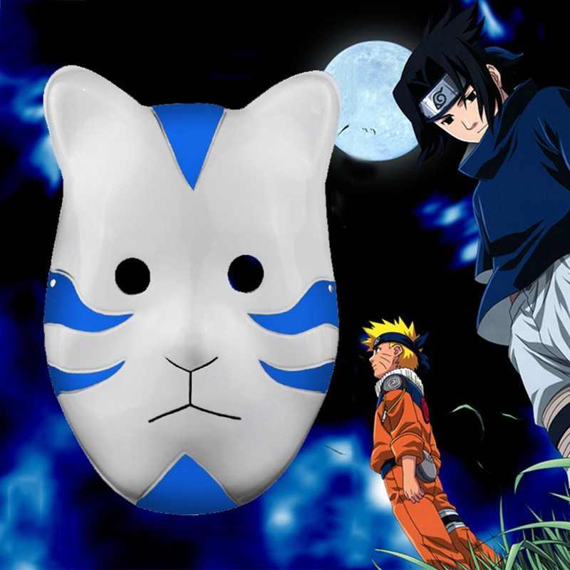 3 kolor Naruto Kakashi Anbu Ninja styl maska, przebranie, akcesoria cosplay, kostium Halloween Anime Manga