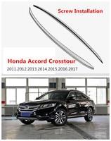 Auto Roof Racks Luggage Rack For Honda Accord Crosstour 2011 2017 High Quality European Version Aluminum Screw Installation