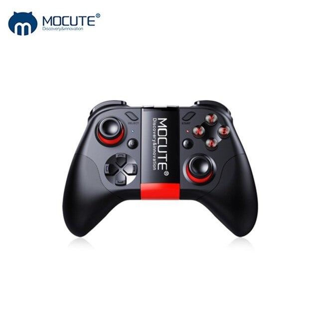 Mocute 054 Bluetooth геймпад мобильный Джойстик Android беспроводной джойстик Джойстик для игр в виртуальной реальности смартфон планшет ПК телефон Смарт ТВ игровой коврик