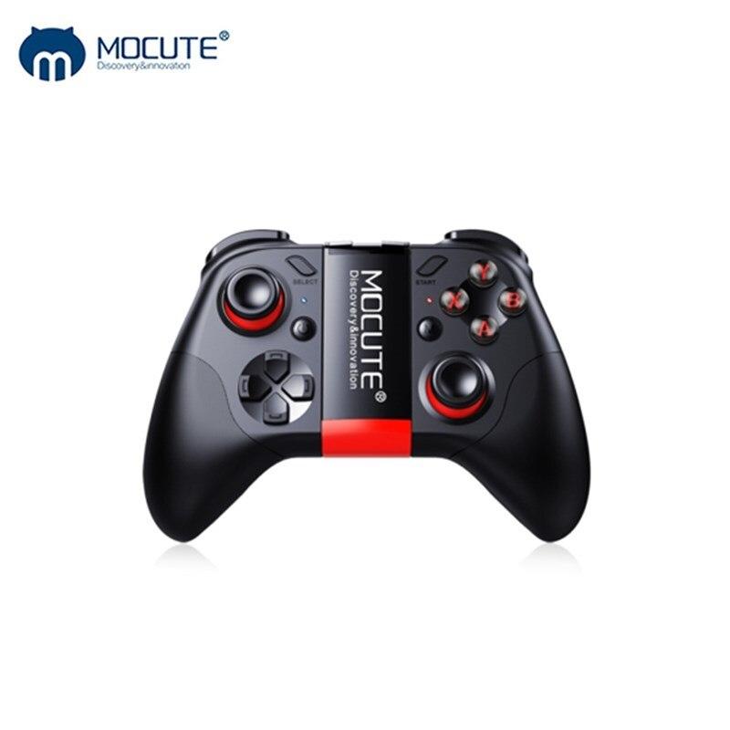 Mocute 054 Bluetooth Gamepad móvil Joypad Joystick Android inalámbrico VR controlador Smartphone Tablet PC teléfono inteligente TV Game Pad
