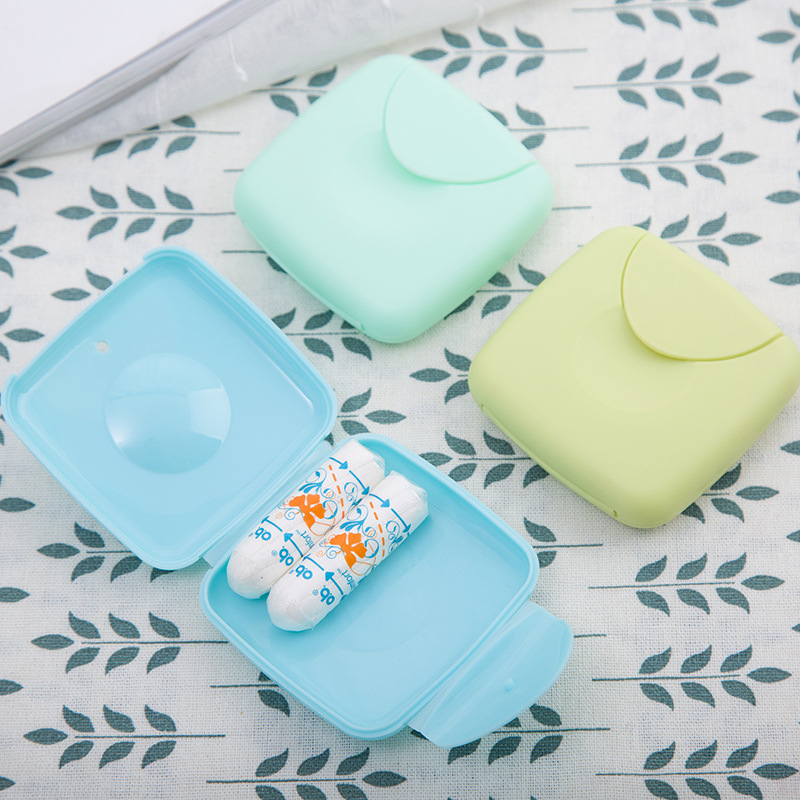 Storage-Box-Holder-Tool-Set Tampons Jewelry Cosmetic Travel Random-Color Outdoor Creative