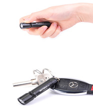 цена на New Year Gift Mini Keychain Flashlight 100 Lumens LED Compact Flashlight with AAA Battery for Camping Daily Life K11