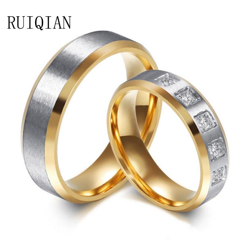 romantic high grade gold titanium steel set auger women