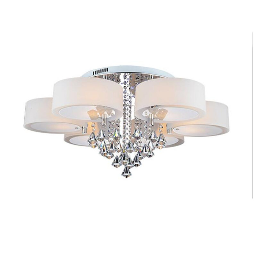 Led Chandeliers Ceiling Lamp Modern Crystal Lustre Plafond Abajur luminaria de teto for Living Room Ceiling Lighting Fixtures modern led ceiling lights for living room bedroom foyer luminaria plafond lamp lamparas de techo ceiling lighting fixtures light