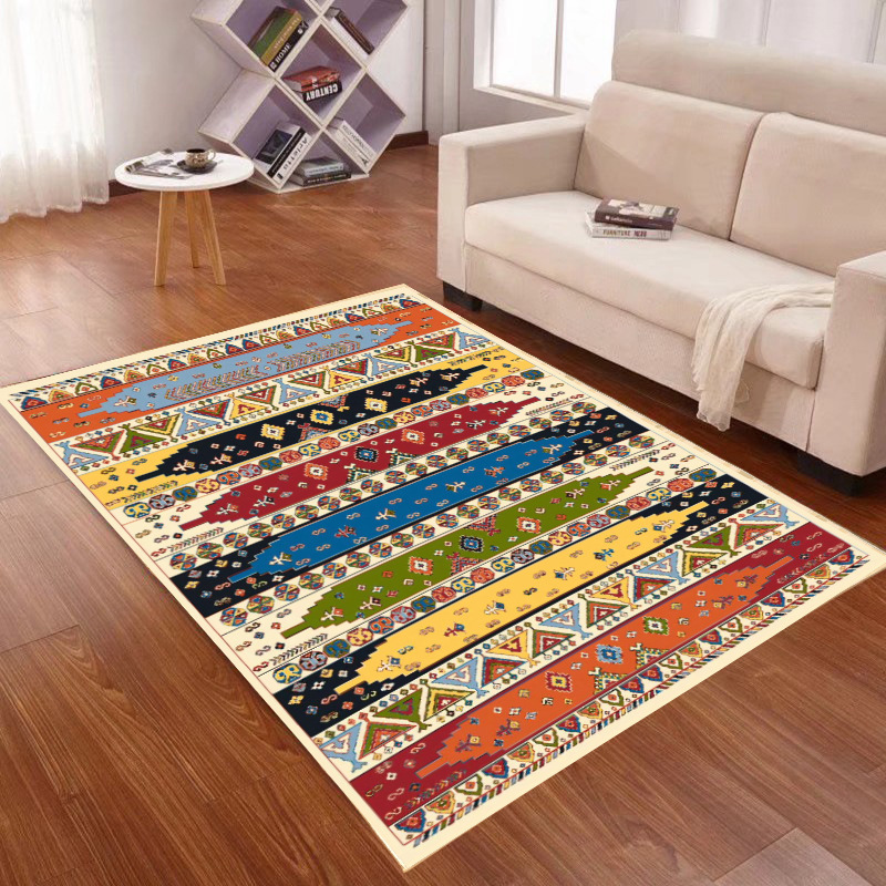 Morocco Ethnic Retro Style Carpets For Living Room Geometric Modern Bedroom Rug Bedside Floor Rug Sofa Tea Table Mat Home Carpet