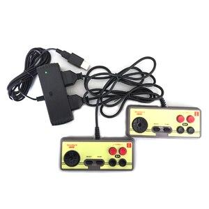 Image 5 - Xunebeifang 7 Pins 2 Spieler Für Nintendo Für NES FC Spiel Controller auf USB für Android DAMPF PC MAC Adapter