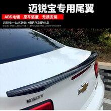 Для Malibu Спойлер ABS Материал заднее крыло грунтовка цвет Malibu задний спойлер для Chevrolet Malibu спойлер 2012