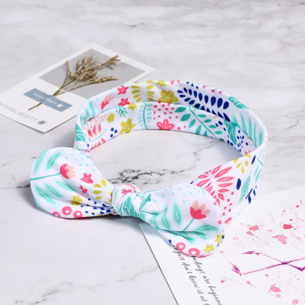 Hot And Lovely Newborn Toddler Headband Ribbon Elastic Baby Headdress Kids Hair Band Girl Bow Knot  Fashion Hair Bands Headband