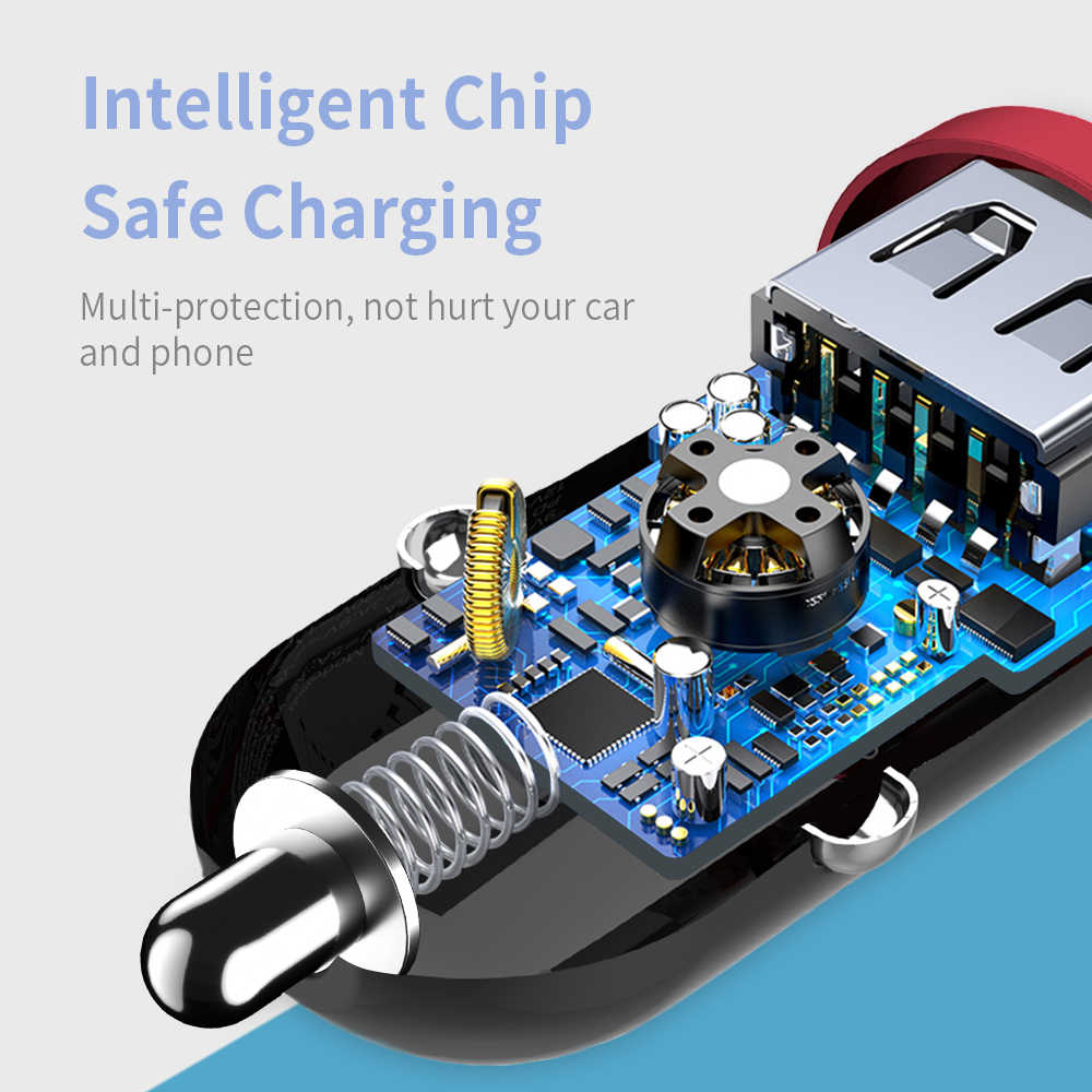Essager Pengisian Cepat 4.0 3.0 Usb Charger Mobil untuk iPhone 11 Pro 11Pro Max QC4.0 QC3.0 QC TYPE C PD biaya Cepat Mobil Charger Telepon