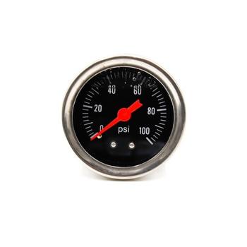комплект манометров масла   CNSPEED Универсальный Регулируемый регулятор давления топлива Комплект масла 0-100psi Калибр Универсальный черный/Red-6AN подходит масляный охладит...