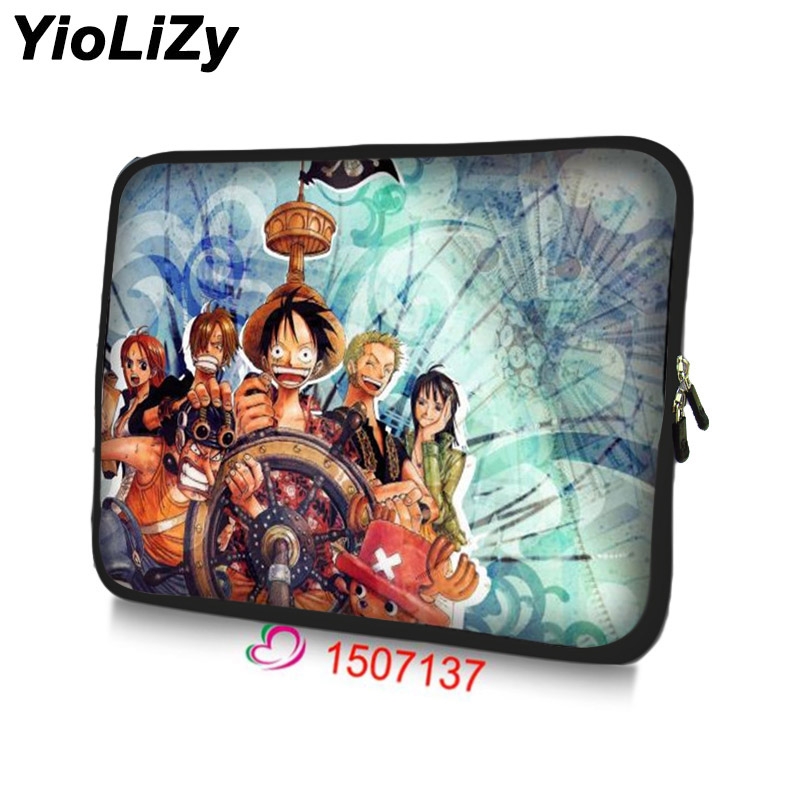 Luffy print Tablet case 7 waterproof notebook sleeve cover 7.9 Neoprene laptop bag protective shell skin TB-1507137