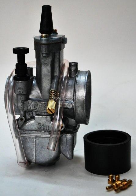Racing Performance KOSO 34MM Carburetor For ATV,Dirt Bike,Motorcycle And Go Kart,Free Shipping