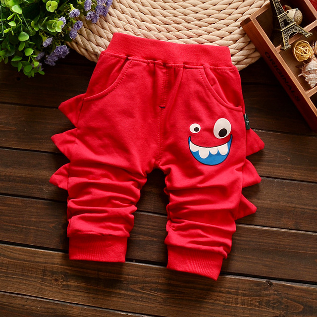 Retail 2016 new spring kids clothing boys girls harem pants 100% cotton trousers baby pants Children's trousers free shipping