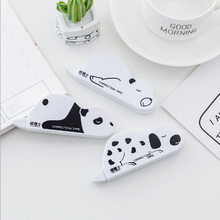 1pcs cute Lazzy animals correction tape material creative  kawaii stationery office school supplies papelaria Alteration 6M