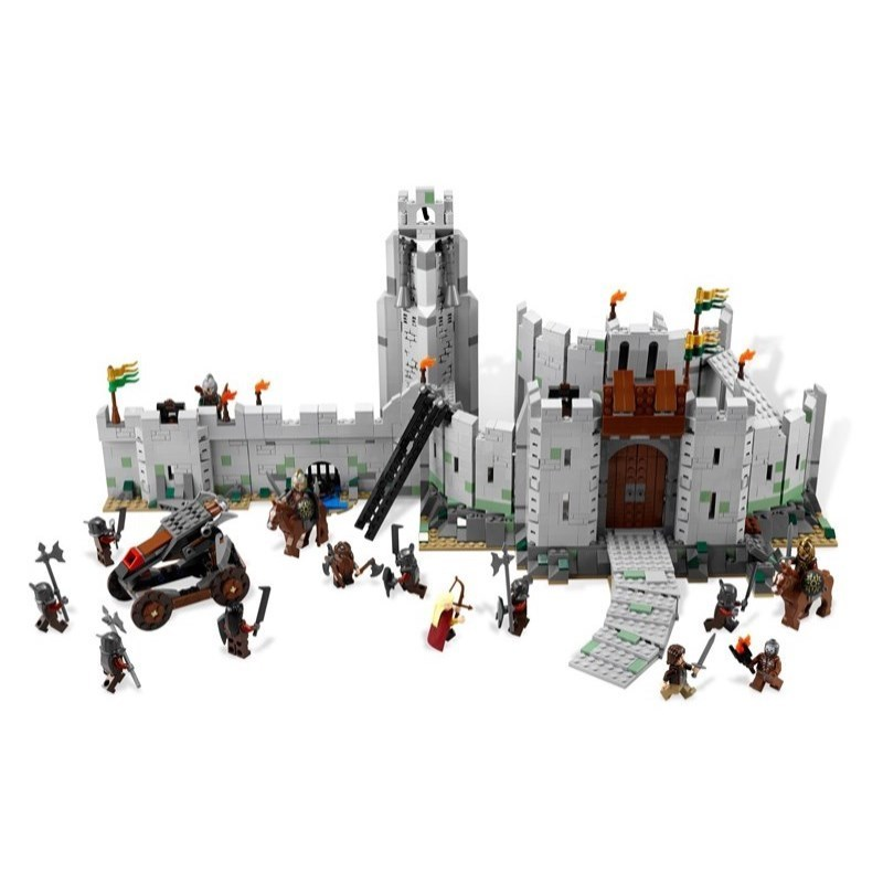 Mailackers 16013 Legoing Lord of the Rings Figures Blocks The Battle Of Helms Deep Model Building Block Brick Toys Legoings 9474