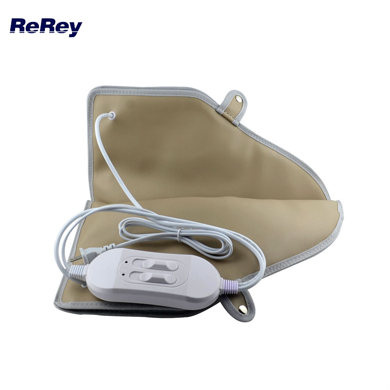 ReRey 1Pair Hot Booties Electric Heated Booties For Manicure Pedicure Massager Far Infrared Warmer Foot Vibration