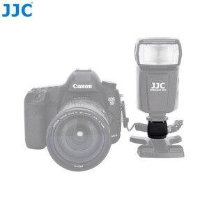 Image 3 - JJC Flash adaptateur de chaussure chaude avec prise femelle PC 3.5mm prise 1/4 20 trépied chaussette chaussures froides monter pour Portable Speedlight