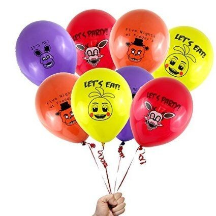 Five Nights at Freddy s 12 Cartoon Colorful Printed Latex Party Toy Balloon Festival Factory price