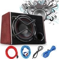 1200 Вт автомобильный сабвуфер аудио Sub Active НЧ Авто Subwoofer автомобиль высокой Мощность усилитель Динамик Car Audio Динамик
