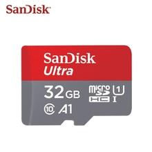 원래 tf 카드 64 기가 바이트 128 기가 바이트 sandisk a1 마이크로 sd 카드 울트라 메모리 카드 16 기가 바이트 32 기가 바이트 고속 microsdhc microsd UHS I