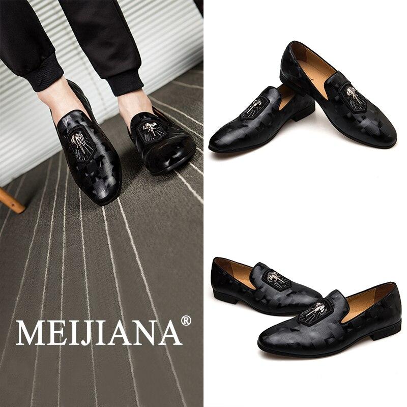 MEIJIANA herren Deodorant Schuhe Frühling und Herbst Nicht slip Schuhe Männer Mode Casual Schuhe 2019 männer Müßiggänger schuhe-in Freizeitschuhe für Herren aus Schuhe bei  Gruppe 1