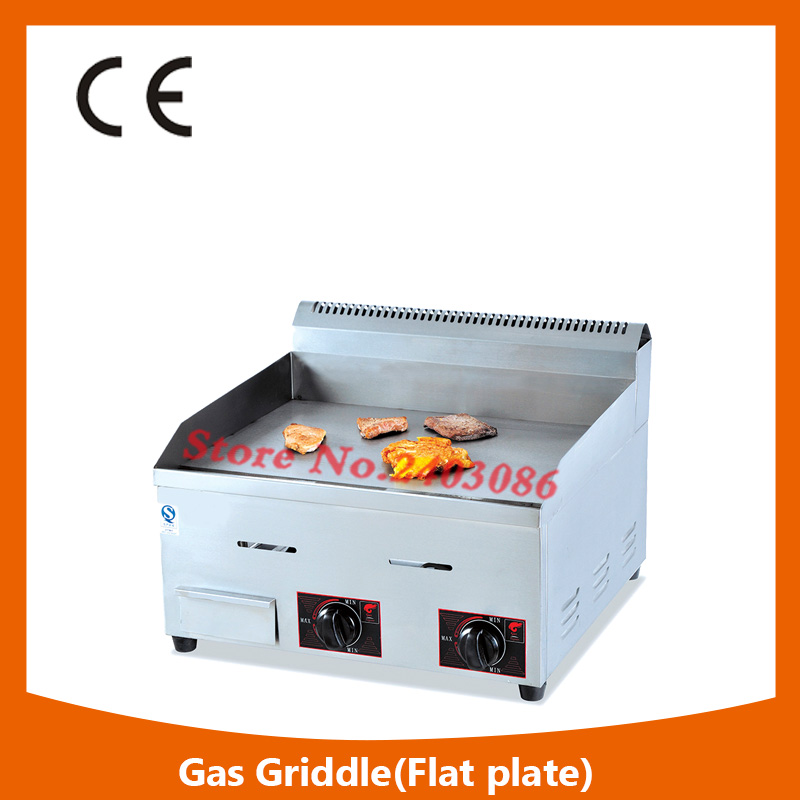 Commercial Restaurant Catering Equipment Gas Flat Griddle,High Quality Counter-top Gas Griddle,Gas Griddle For Restaurant commercial flat griddle for sale