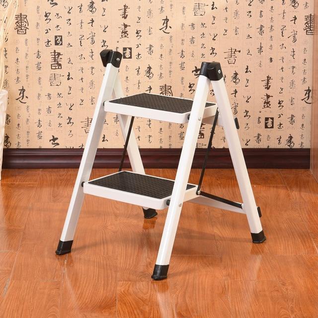 Kitchen Step Stools Ladders Household Floding Stool Two Ladder Multi Functional Anti Slip Little Folding