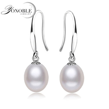 Freshwater Natural Pearl earrings for women,bridal real pearl earrings 925 sterling silver earring jewelry lady nice gift white real natural freshwater pearl earrings women white grey black bridal silver pearl earring