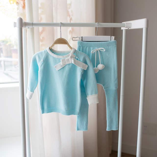 c1ecef9b3c52 Online Shop New 2016 spring autumn Knitwear baby girls clothes ...