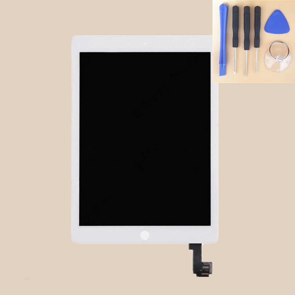 9.7 For Apple Ipad Air 2 ipad 6 A1567 A1566 Full LCD Display With Touch Screen Digitizer Panel Assembly Complete For A1567 A1569.7 For Apple Ipad Air 2 ipad 6 A1567 A1566 Full LCD Display With Touch Screen Digitizer Panel Assembly Complete For A1567 A156