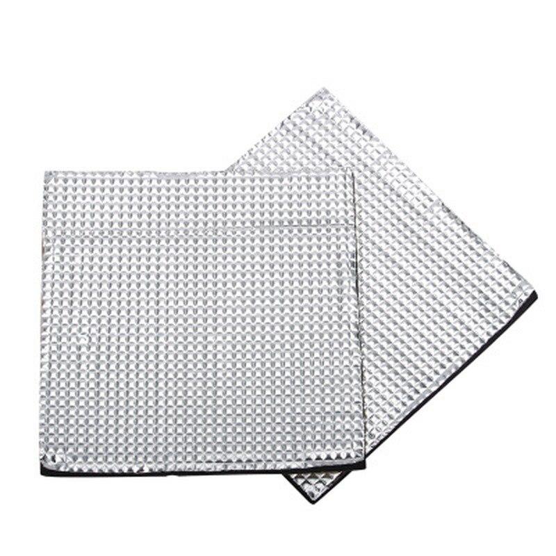 200*200/300*300/400*400*10mm lit chaud isolation en caoutchouc coton autocollant imperméable à l'eau feuille isolée pour a6 a8 e12 cr10 cr10s partie