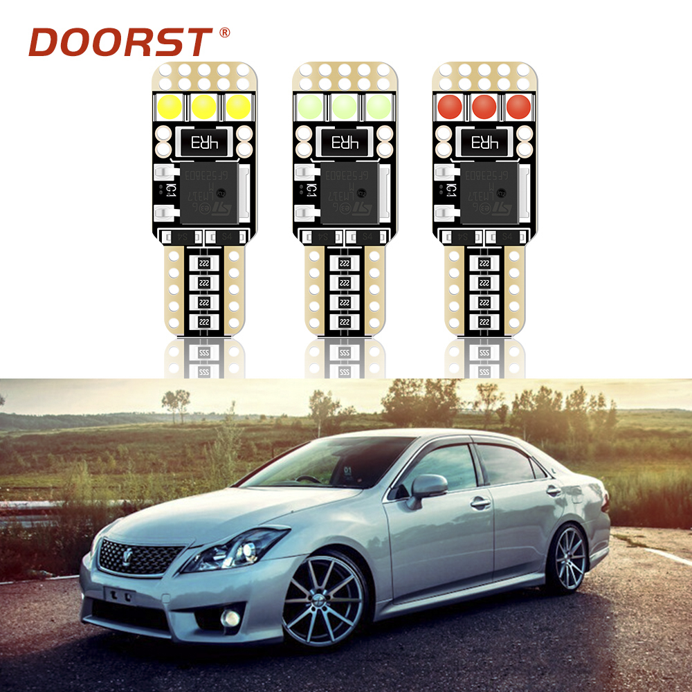 100% Canbus T10 W5W LED Error Free Auto Lamp Bulb For <font><b>Toyota</b></font> Crown S210 S200 S180 S170 S150 GRS 200 2GR 2JZ Mark II 100 110 image
