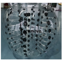 Inflatable soccer bubble ball for kids or adult giant inflatable ball,inflatable soccer balles,bubble footballs