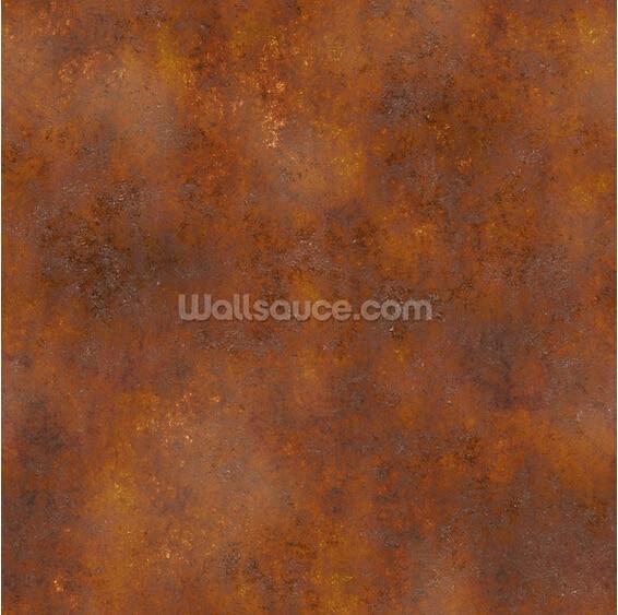 10 17 63 De Réduction Papier Peint En Métal Fait Sur Commande Effet De Rouille Peintures Murales De Photo 3d Pour Le Papier Peint Imperméable De