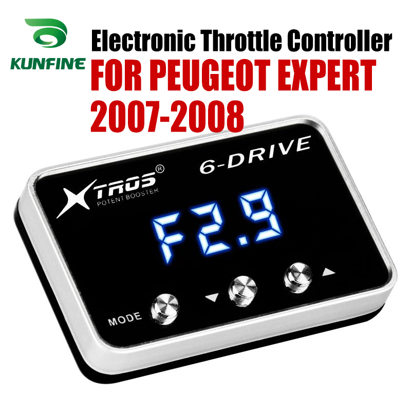 Car Electronic Throttle Controller Racing Accelerator Potent Booster For PEUGEOT EXPERT 2007-2008  Tuning Parts AccessoryCar Electronic Throttle Controller Racing Accelerator Potent Booster For PEUGEOT EXPERT 2007-2008  Tuning Parts Accessory