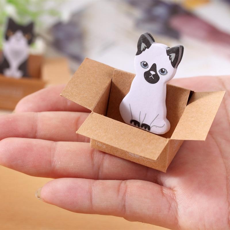 5X Câine de câine și pisică Memo Pads Note lipicioase Autocolant - Blocnotesuri și registre - Fotografie 6
