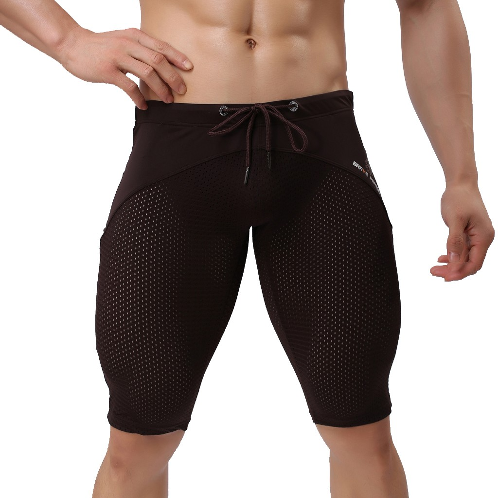 2019 New Men Hawaiian Trunks Quick Dry Beach Surfing Running Swimming Pant Vocation Breathable Skinny Shorts