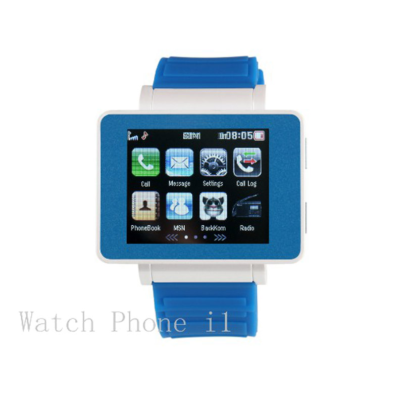 For Children s I Bluetooth Smart Watch Quad band Unlock Mobile Phone 1 8 Touch Screen