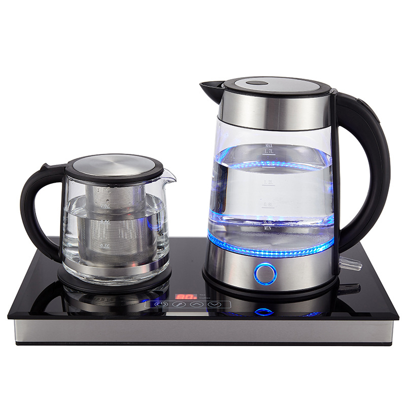 Electric Kettle Tea Maker Coffee Maker with stainless stell filter Teapot SET induction cooker ...