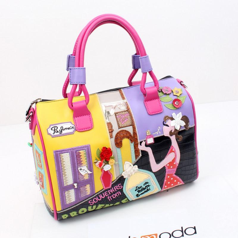 Women Shoulder Bag tote Braccialini Handbag sac a main borse di marca bolsa feminina мужской ремень cinto couro marca