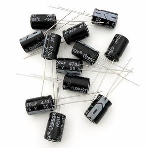 Image 3 - MCIGICM 1000 pièces condensateur électrolytique en aluminium 470 uF 25V 8*12 condensateur électrolytique 470 uf
