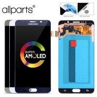 5.7'' Super AMOLED Оригинальныйтачскриндисплейэкрандля SAMSUNG Galaxy Note 5 сенсорныйдисплейОригиналLCDстачскриномврамкезаменазапчасти Note5