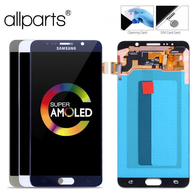 D'ORIGINE 5.7 ''Super AMOLED LCD pour SAMSUNG Galaxy Note 5 LCD Affichage Note5 N920A N9200 SM-N920 N920C Tactile Écran digitizer