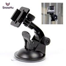 SnowHu עבור אביזרי Pro 7cm שמשת המכונית הר היניקה גביע עבור Gopro גיבור 9 8 7 6 5 4 עבור SJCAM לxiaomi עבור יי GP17