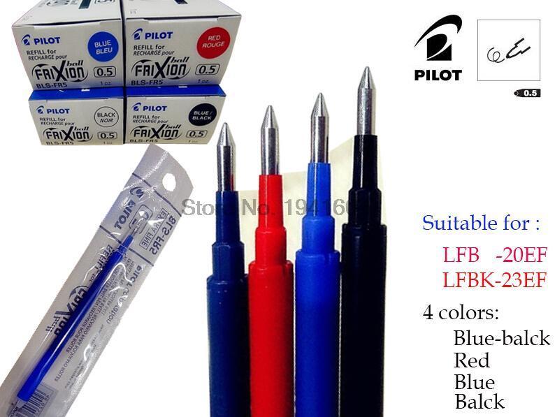 купить 12 Pcs PILOT erasable refill BLS-FR5 refills 0.5mm Erasable. Pilot LFB-20EF Refills Quality assurance по цене 806.16 рублей