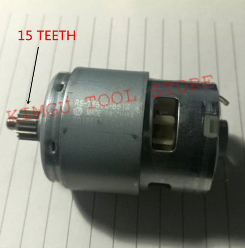 DC14.4V  Motor 324483 324-483  For HITACHI DS14DFL DS14DFL(PC) DS14DVF3 DS14DFLPC Cordless Drill Driver  Screwdriver
