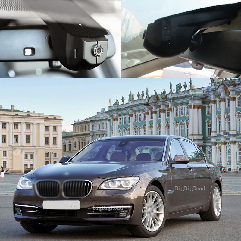 BigBigRoad For BMW 7 series 730 740 745 740 e65 wifi Car DVR Video Recorder Novatek 96655 Video Registrator black box dash cam junsun car dvr camera video recorder wifi app manipulation full hd 1080p novatek 96655 imx 322 dash cam registrator black box