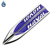 Car Fender Side Sticker Emblem Decal For Great Wall Haval Logo M1 M2 M4 H1 H2